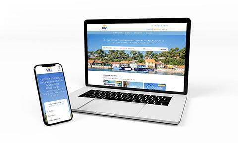 Site Bateliers Arcachon - Agence SG